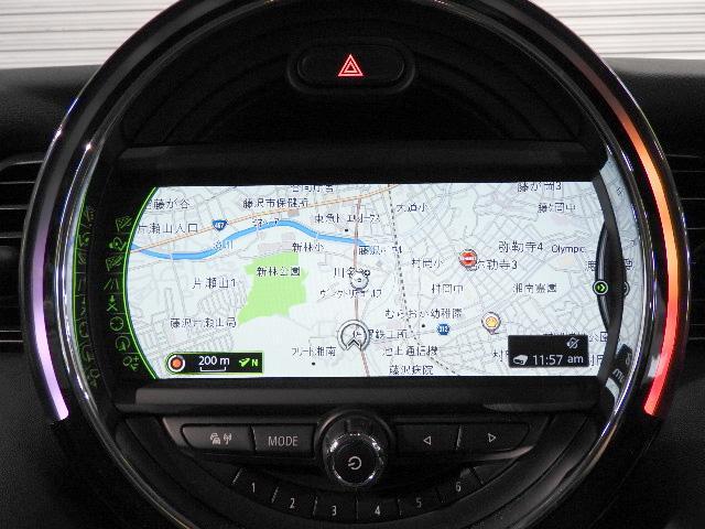 MINI MINI クーパー HDDナビ LEDヘッドライト 認定中古車