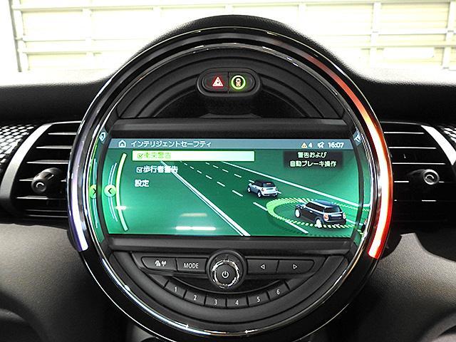 アクティブクルーズコントロールは前車追走型 前車接近警告(歩行者検知機能付) 衝突被害軽減ブレーキ 警告タイミングは3段階で調整可能