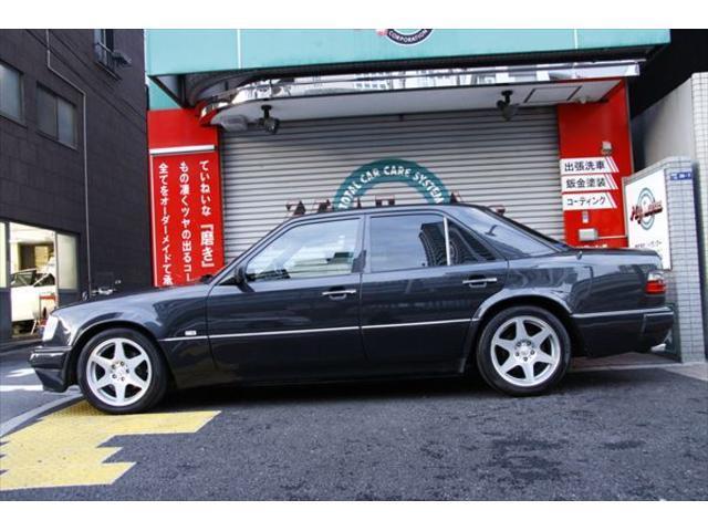 500E ポルシェライン ディーラー車 黒革 ETC SR(5枚目)
