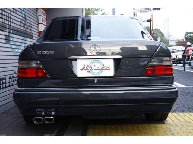 500E ポルシェライン ディーラー車 黒革 ETC SR(10枚目)