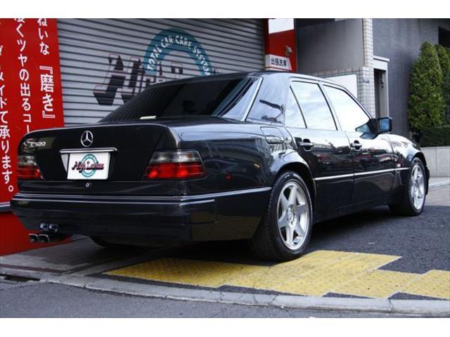 500E ポルシェライン ディーラー車 黒革 ETC SR(11枚目)