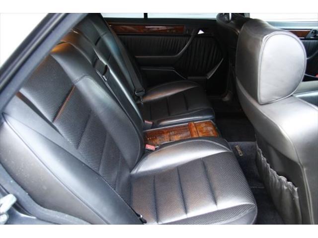 500E ポルシェライン ディーラー車 黒革 ETC SR(16枚目)