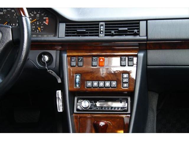 500E ポルシェライン ディーラー車 黒革 ETC SR(19枚目)