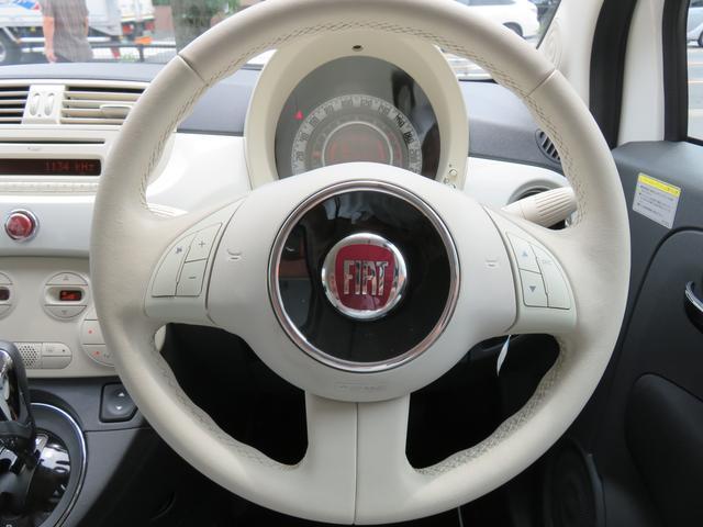 フィアット フィアット 500C ミモザ 40台限定車  電動オープン