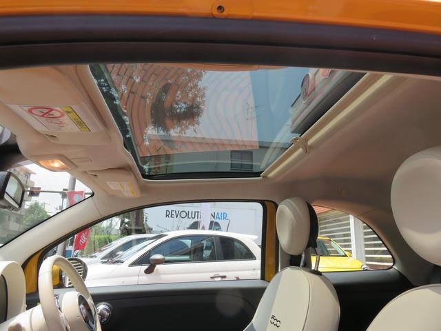 フィアット フィアット 500 ツインエア ラウンジ 弊社デモカー 新車保証継承