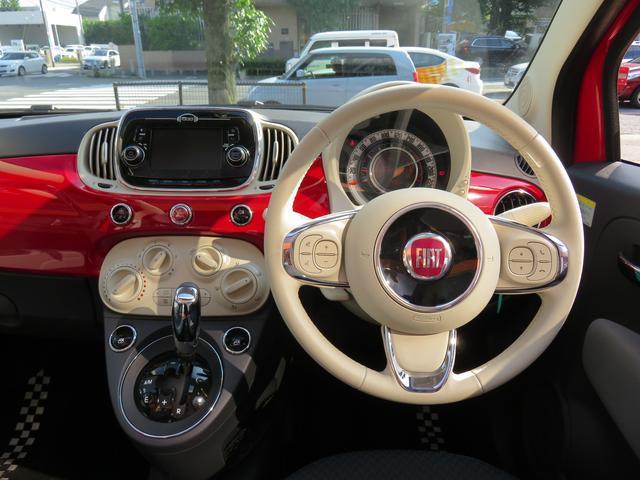 フィアット フィアット 500C 1.2 ポップ 弊社デモカー 新車保証継承