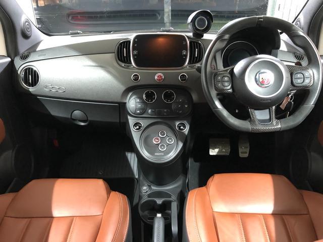 コンペティツィオーネ スティーレ 限定車 ブラウンレザーシート ETC ドライブレコーダー カープレイ対応 レコードモンツァマフラー ブレンボキャリパー(15枚目)