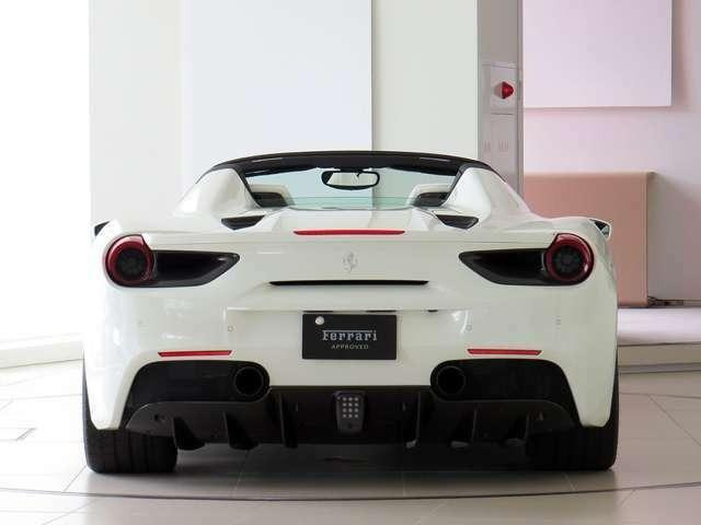 「フェラーリ」「488スパイダー」「オープンカー」「愛知県」の中古車4