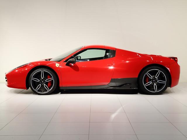 「フェラーリ」「フェラーリ 458スパイダー」「オープンカー」「大阪府」の中古車5
