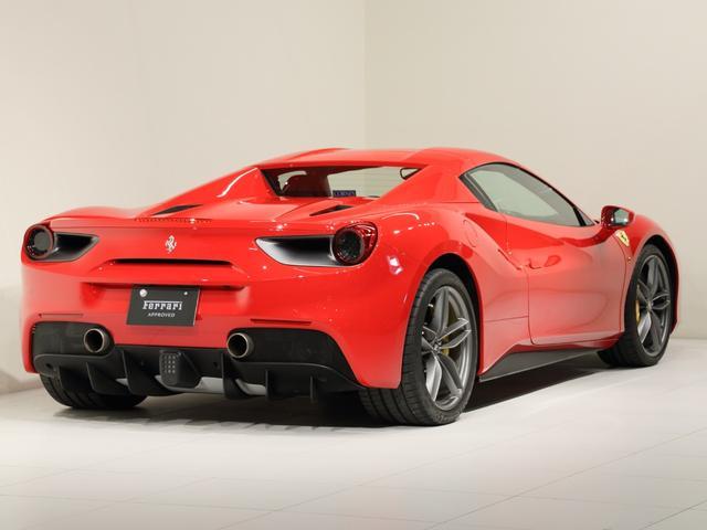 「フェラーリ」「フェラーリ 488スパイダー」「オープンカー」「大阪府」の中古車7