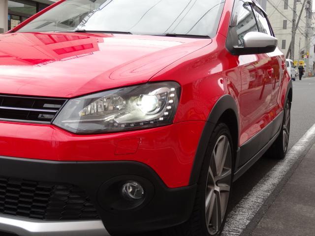 フォルクスワーゲン VW ポロ クロスポロHDDナビETCICターボ7速AT査定済み車