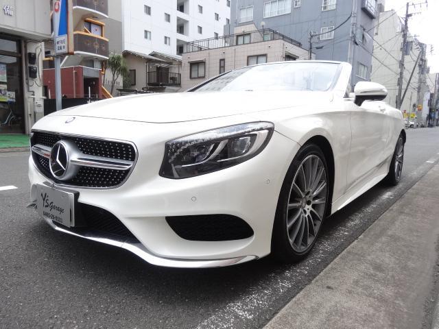 S550 カブリオレAMGPKG青幌白デジーノレザーシート(14枚目)