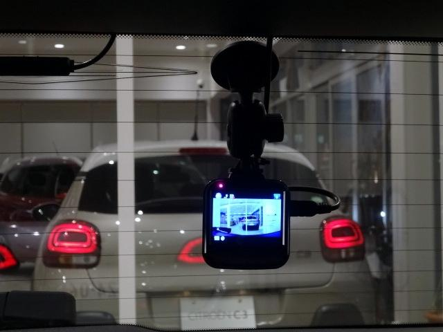 リアにもドライブレコーダーを搭載。煽り運転に合っても安心です。
