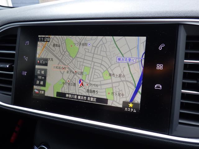 GT ブルーHDi 当社デモアップ車両 純正ナビ ETC ドラレコ(6枚目)