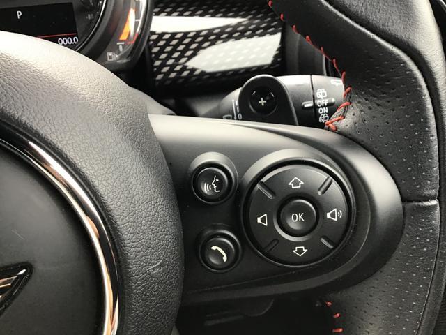 クーパーS ペッパーパッケージ ジョンクーパーパッケージ カメラパッケージ 前後パークディスタンスコントロール コンフォートアクセス アイドリングストップ Blue Tooth LED ETC 18AW 禁煙車(40枚目)
