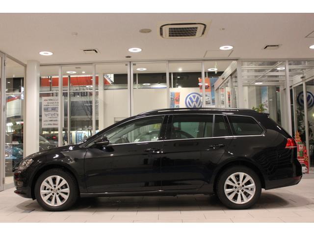 フォルクスワーゲン VW ゴルフヴァリアント CLナビ Rカメ 新車保証継承付