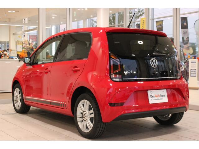 フォルクスワーゲン VW アップ! アップ!ウィズ ビーツ  限定車 専用サウンドシステム搭載