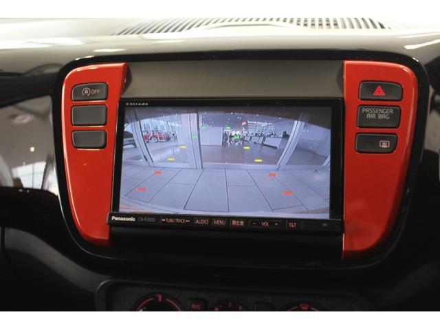 フォルクスワーゲン VW アップ! オレンジアップ! ナビ ETC Rカメ