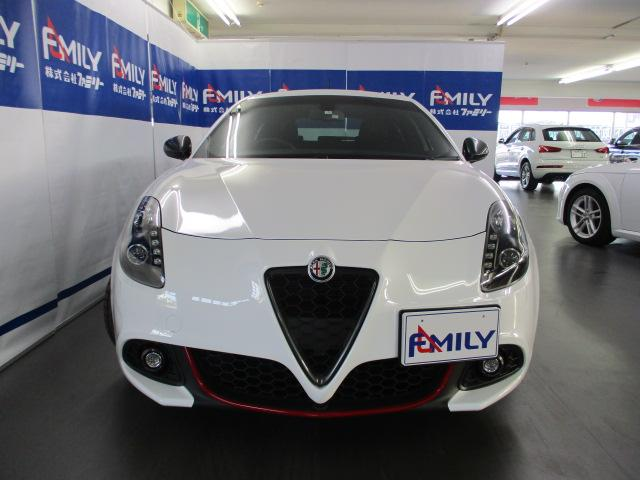 アルファロメオ アルファロメオ ジュリエッタ スーパーパックスポーツNAVI新車保証継承