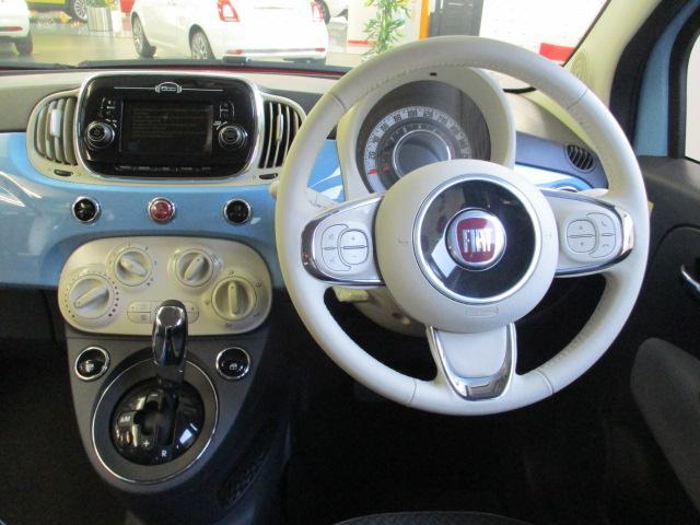 フィアット フィアット 500 ツインエア ポップ 試乗車