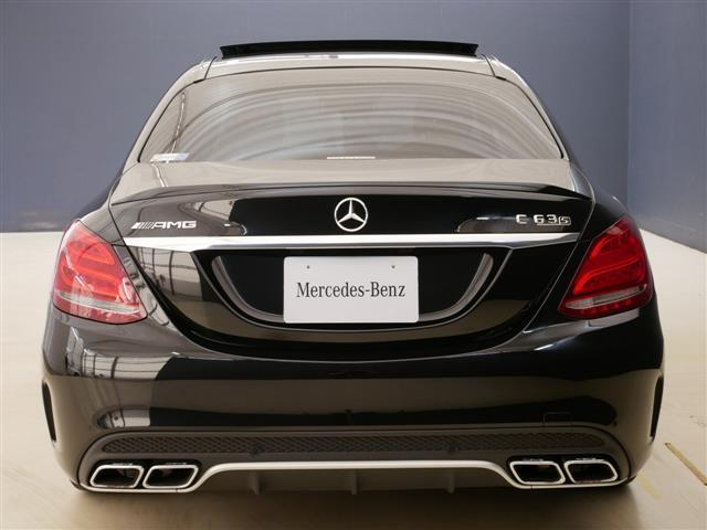 C63 S エクスクルーシブパッケージ 1年保証 新車保証(4枚目)
