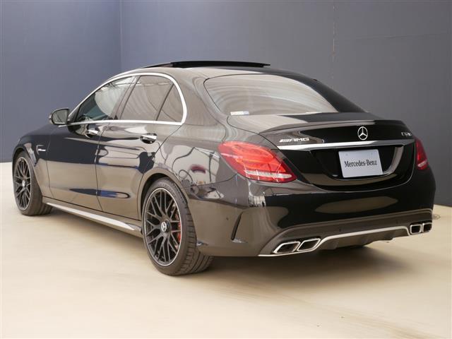 C63 S エクスクルーシブパッケージ 1年保証 新車保証(5枚目)