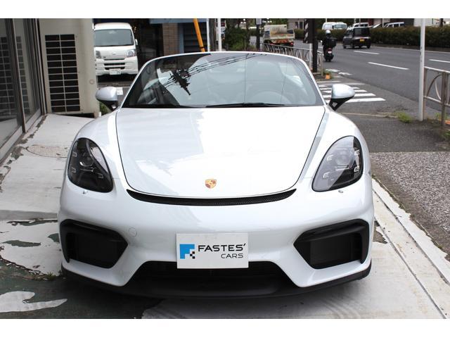 「ポルシェ」「718スパイダー」「オープンカー」「東京都」の中古車6