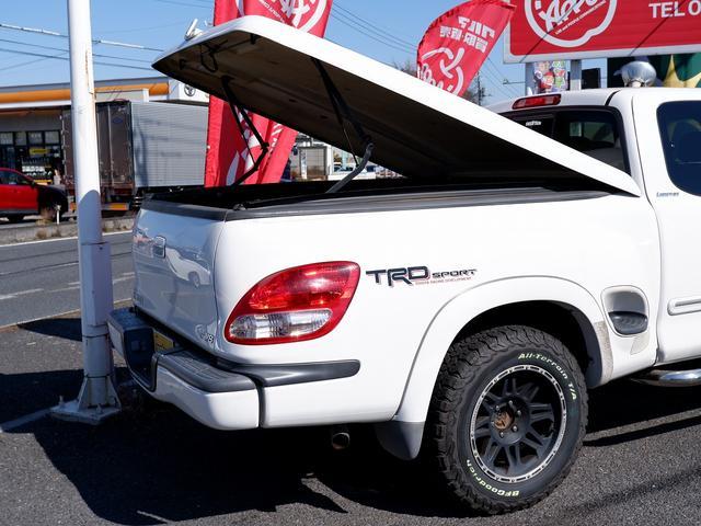 アクセスキャブ リミテッド 新車並行2003年モデル ステップサイド LIMITED TRDスポーツPKG 18インチアルミ BFGoodrich All-Terrain T/A K02 AREハードトノカバー(39枚目)