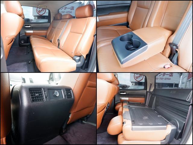 クルーマックス リミテッド CARFAX確認済実走行スタッフカー 2007年モデル タンドラ クルーマックスTRDオフロード レッドロックレザー 8インチサイバーナビ 18インチAW JBL ブルバー リフトアップ トノカバー(19枚目)