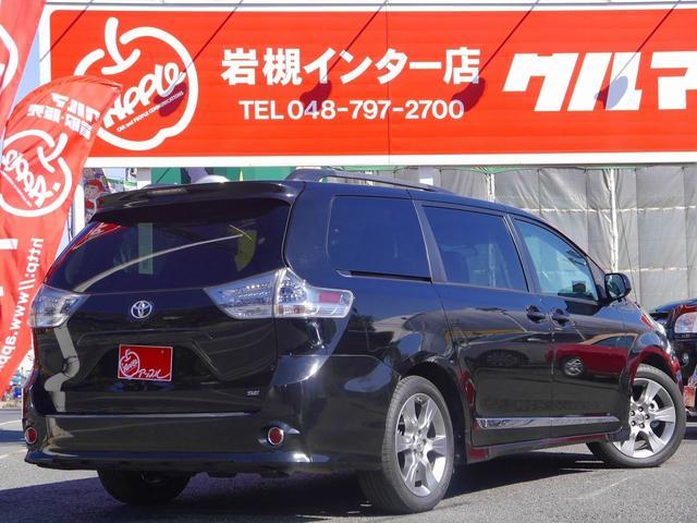 米国トヨタ シエナ SE 新並 フルセグHDDナビ サンルーフ 両側パワスラ