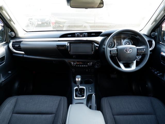 Z 新車未登録 新型ハイラックスZ ディーゼルターボ メーカー保証付き TSS-P レーダークルーズ アイドリングストップ コーナーセンサー 電動格納ドアミラー LEDヘッドライト LEDフォグランプ(3枚目)