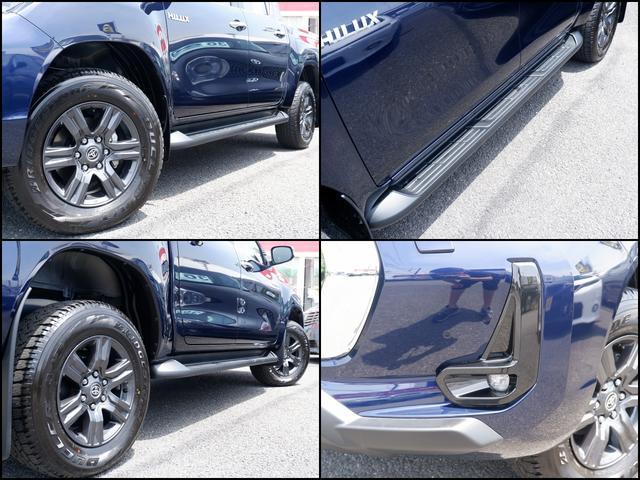 Z 新車未登録 新型ハイラックスZ ディーゼルターボ メーカー保証付き TSS-P レーダークルーズ アイドリングストップ コーナーセンサー 電動格納ドアミラー LEDヘッドライト LEDフォグランプ(7枚目)