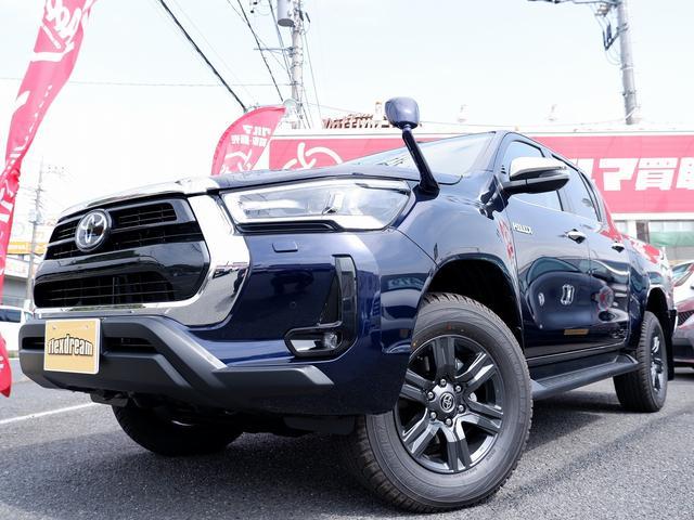 Z 新車未登録 新型ハイラックスZ ディーゼルターボ メーカー保証付き TSS-P レーダークルーズ アイドリングストップ コーナーセンサー 電動格納ドアミラー LEDヘッドライト LEDフォグランプ(24枚目)