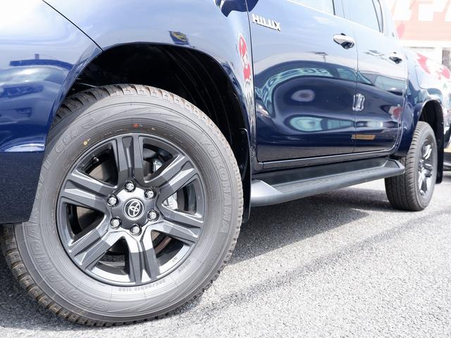 Z 新車未登録 新型ハイラックスZ ディーゼルターボ メーカー保証付き TSS-P レーダークルーズ アイドリングストップ コーナーセンサー 電動格納ドアミラー LEDヘッドライト LEDフォグランプ(27枚目)