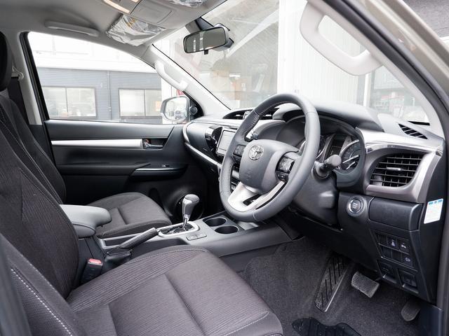 Z 新車未登録 新型ハイラックスZ ディーゼルターボ メーカー保証付き TSS-P レーダークルーズ アイドリングストップ コーナーセンサー 電動格納ドアミラー LEDヘッドライト LEDフォグランプ(33枚目)