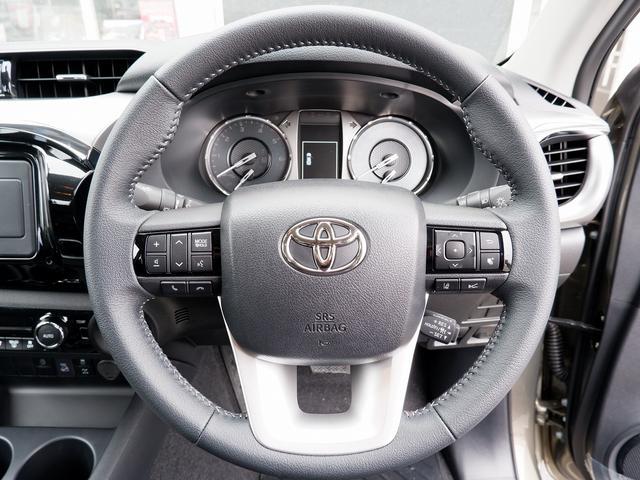 Z 新車未登録 新型ハイラックスZ ディーゼルターボ メーカー保証付き TSS-P レーダークルーズ アイドリングストップ コーナーセンサー 電動格納ドアミラー LEDヘッドライト LEDフォグランプ(36枚目)