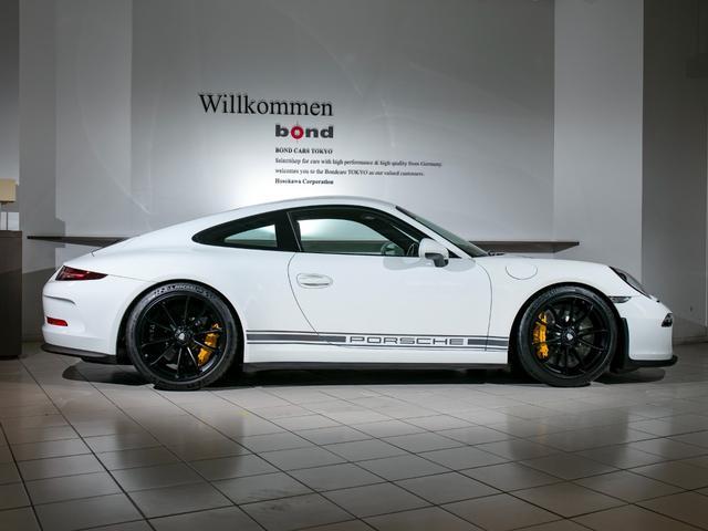911R 国内正規ディーラー車 世界991台限定 シングルマスフライホイール スポーツエグゾースト フロントリフター スポーツクロノ チタンマフラ PCCB 純正ナビゲーション プロテクションフィルム(3枚目)