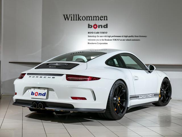911R 国内正規ディーラー車 世界991台限定 シングルマスフライホイール スポーツエグゾースト フロントリフター スポーツクロノ チタンマフラ PCCB 純正ナビゲーション プロテクションフィルム(4枚目)
