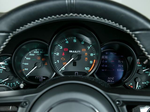 911R 国内正規ディーラー車 世界991台限定 シングルマスフライホイール スポーツエグゾースト フロントリフター スポーツクロノ チタンマフラ PCCB 純正ナビゲーション プロテクションフィルム(19枚目)