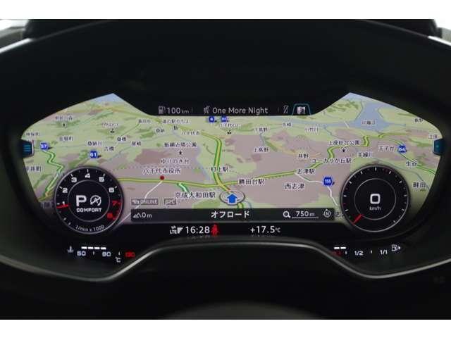 Googleマップを表示し目的地までエスコート。. ステアリングスイッチで各種情報の切り替えが可能。欲しい情報を瞬時に少ない視線移動と抜群の操作感でドライビングをサポートしてくれます。