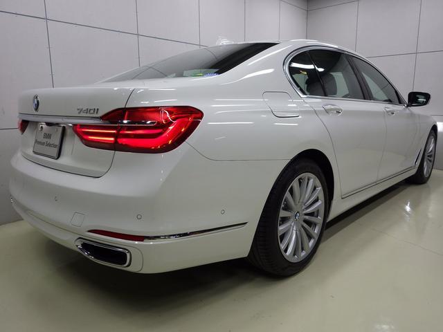 BMW BMW 740i ブラックレザー 正規認定中古車