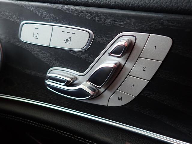 メモリー機能付きパワーシートは、3名様分の座席位置の記憶が可能ですので、ドライバー交代の際も非常に楽です。常に的確なポジションに座席を素早く移動できます!