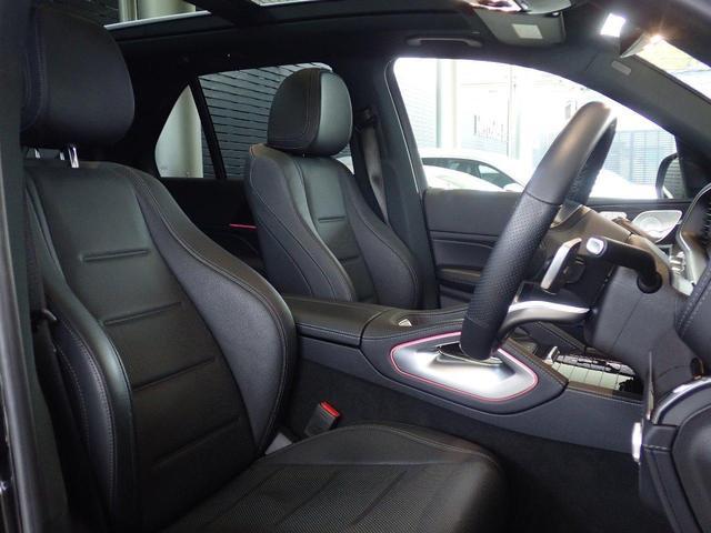 GLE300d 4マチック AMGライン 弊社下取り車両 20インチホイール ブラックレザー サンルーフ ブルメスターサウンド フルセグTV 保冷温ドリンクホルダー 認定中古車(9枚目)