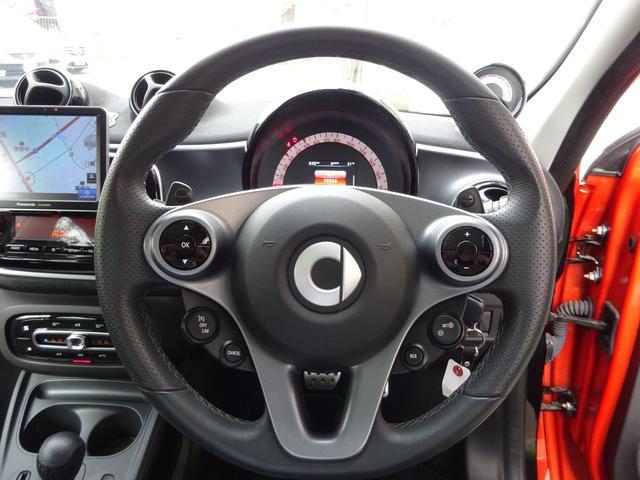 ターボ smart forfour turbo ディーラーオプションナビゲーション 本革シート 認定中古車(16枚目)