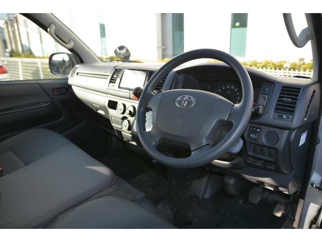 トヨタ ハイエースバン ロングDX GLパッケージ ナビTV Bカメ セキュリティ