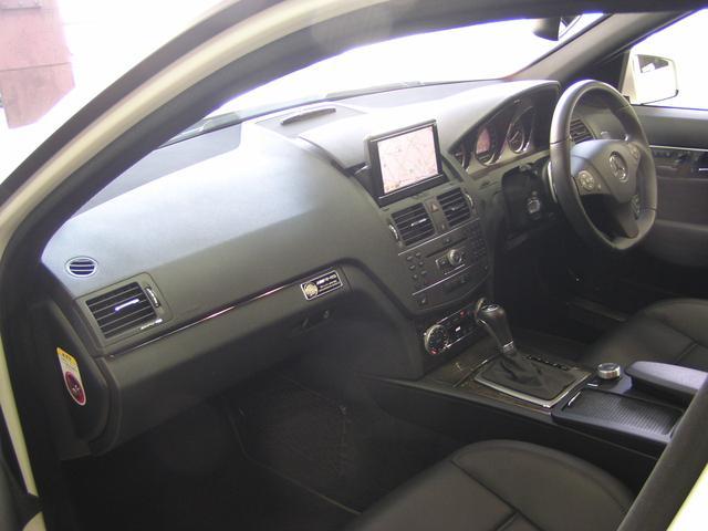 C63 AMG スマートキーSR 黒革 純正ナビテレビ 禁煙(16枚目)