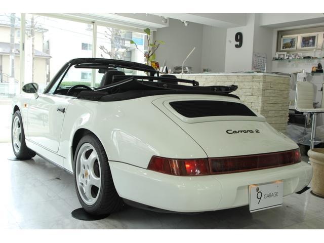 911カレラ2 カブリオレ 5速MT ディーラー車(4枚目)