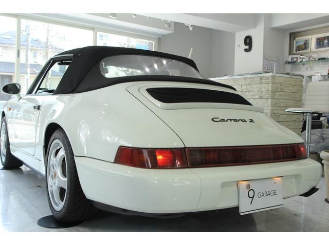 911カレラ2 カブリオレ 5速MT ディーラー車(15枚目)