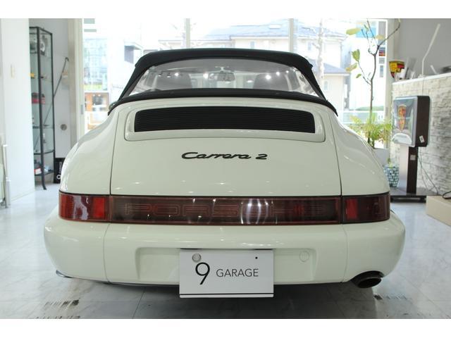911カレラ2 カブリオレ 5速MT ディーラー車(16枚目)