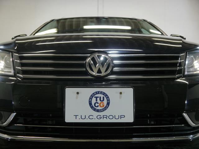 フォルクスワーゲン VW パサートヴァリアント TSIハイライン 1オナ黒革 OZ18AW 地デジ 2年保証